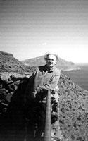 Antonio Colinas, en el Cabo de Gata