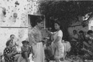Valente bailando en La Chanca (foto Chevalier),
