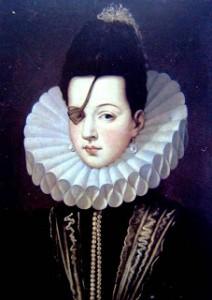 Retrato de la princesa de Eboli, por Alonso Sánchez Coello