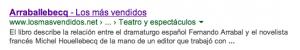 """Internet ha situado """"Arraballebecq"""" entre los libros más vendidos"""