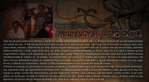 """Prólogo de """"Arraballebecq"""""""