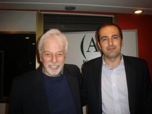 Jodorowsky y Diego Moldes