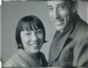 Val del Omar y su esposa