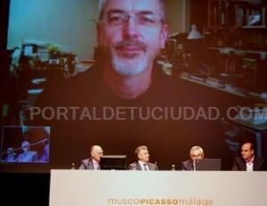 Bill Viola en videoconferencia con el Museo Picasso